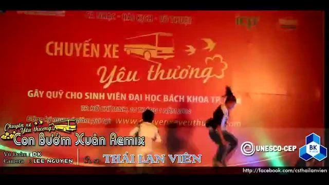 Xem video nhạc hot Con Bướm Xuân (Remix) (Live Chuyến Xe Yêu Thương) online miễn phí
