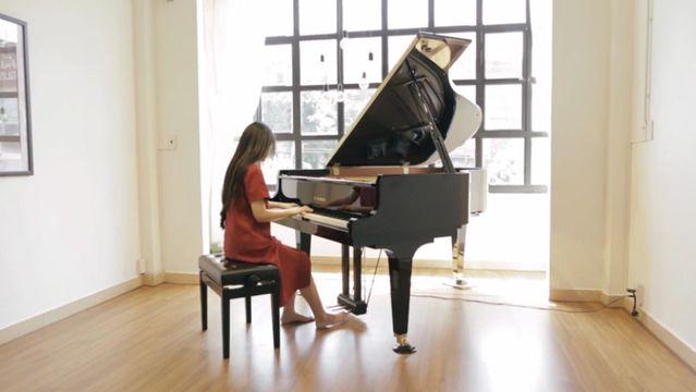 Download nhạc hay Phía Sau Một Cô Gái (Piano Cover) online