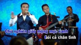 Tải Nhạc Lá Thư Đô Thị (Karaoke) - Chế Minh