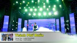 Tải Nhạc Thành Phố Buồn (Karaoke) - Chế Minh