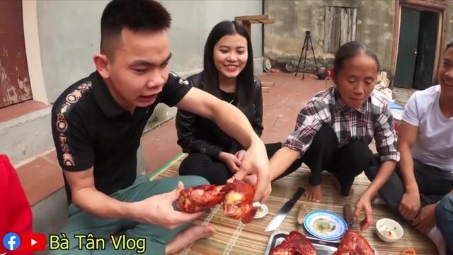 MV Cánh Gà Tây Khổng Lồ Nướng Siêu Cay - Bà Tân Vlog | Video - MV Âm Nhạc