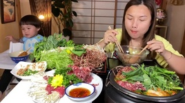Tải Nhạc Ngon Ngất Ngây Nồi Lẩu Riêu Cua Bắp Bò Nóng Hổi Vừa Thổi Vừa Ăn - Cuộc Sống Ở Nhật #549 - Quynh Tran JP