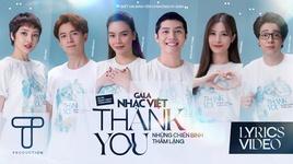 Tải Nhạc Thank You - Những Chiến Binh Thầm Lặng (Lyric Video) - Hồ Ngọc Hà