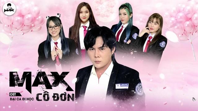Xem MV MAX CÔ ĐƠN (Đại Ca Đi Học OST) (Lyric Video) - Đạt Max