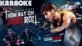 Tải Nhạc Hôm Nay Em Cưới Rồi (Karaoke) - Khải Đăng