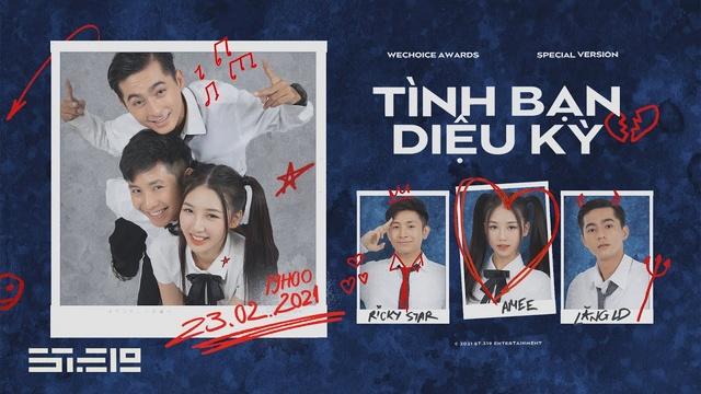 Tải nhạc Tình Bạn Diệu Kỳ (Special Version) - AMee, Ricky Star, Lăng LD | MV - Ca Nhạc Mp4