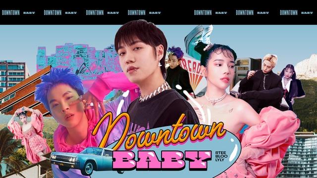 MV Downtown Baby (Lyric Video) - R.Tee, Lyly, Bloo