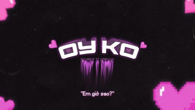 Oyko (Lyric Video) - Paow, 3K