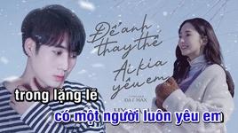 Tải Nhạc Để Anh Thay Thế Ai Kia Yêu Em (Karaoke) - Hy Nam