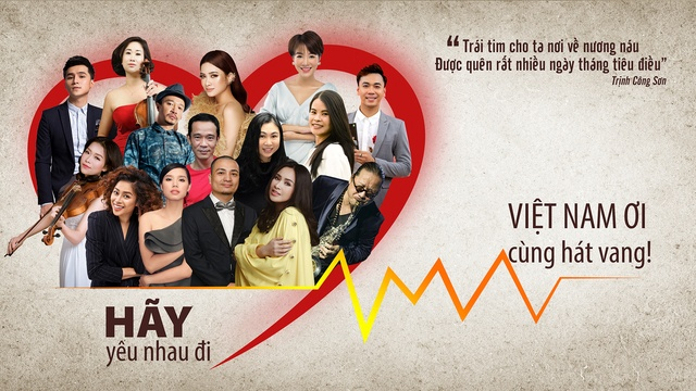 Xem MV Hãy Yêu Nhau Đi (Lyric Video) - Vietnam Artist Network