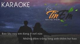 Tải Nhạc Chờ Tin Em (Karaoke) - Hà Huy Hiếu
