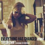 Download nhạc Everything Has Changed trực tuyến miễn phí