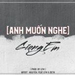 Download nhạc hay Anh Muốn Nghe Giọng Em (CM1X X VRT Remix) hot nhất