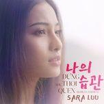 Tải bài hát Đừng Như Thói Quen (Korean Version) về máy