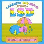 Nghe và tải nhạc hay Thunderclouds Mp3