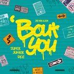 Bài hát 'Bout You trực tuyến