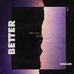 Nghe nhạc Better Mp3 miễn phí