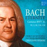 Tải nhạc Wer nur den lieben Gott lässt walten, BWV 93: VII. Sing, bet und geh auf Gottes Wegen (Choral) miễn phí