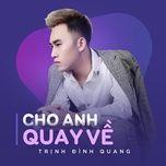 Bài hát Cho Anh Quay Về về điện thoại