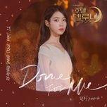 Nghe nhạc hay Done For Me (Hotel Del Luna OST) nhanh nhất