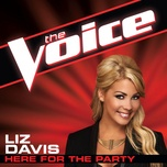 Download nhạc Mp3 Here For The Party (The Voice Performance) hot nhất