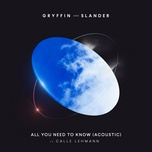 Bài hát All You Need To Know (Acoustic) hot nhất