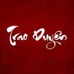 Download nhạc Trao Duyên chất lượng cao