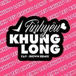 Tải nhạc Tình Yêu Khủng Long Remix miễn phí về điện thoại