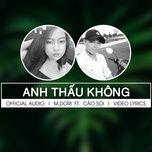 Tải nhạc Mp3 Anh Thấu Không trực tuyến miễn phí