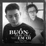 Nghe và tải nhạc hay Buồn Làm Chi Em Ơi (Acoustic Version) Mp3 online