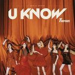 Tải nhạc Mp3 U Know