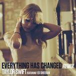 Nghe và tải nhạc Everything Has Changed về điện thoại