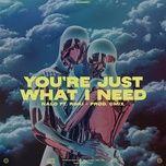 Nghe và tải nhạc You're Just What I Need trực tuyến