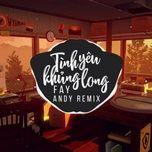 Tải bài hát Tình Yêu Khủng Long (Andy Remix) trực tuyến