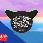 Bài hát Anh Muốn Đưa Em Về Không? (N.q.n Remix) Mp3 nhanh nhất